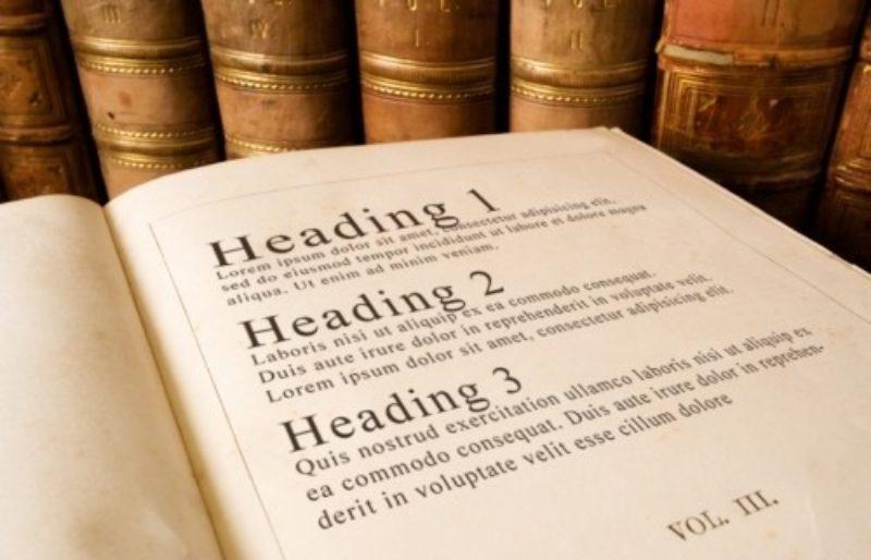 H1 gebruiken in wordpress website