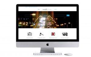 advocaat verkeersrecht webdesign Sneek Friesland WordPress Website